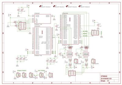 TDA1545A cir