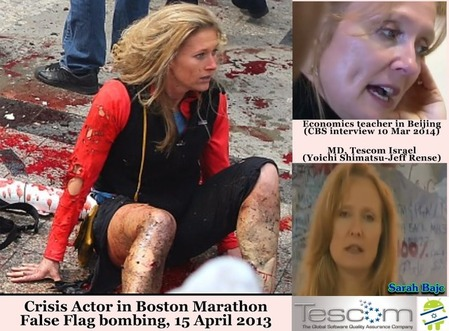 sarah Bajc - MD of tescom - teacher -boston bombing xcf