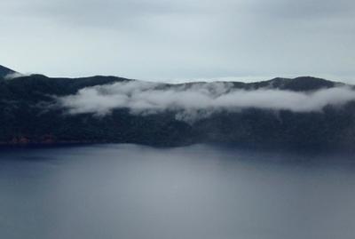 摩周湖の龍