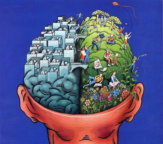 右脳と左脳の統合・調和、バラン...