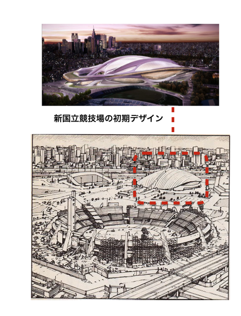 「akira オリンピック 会場」の画像検索結果