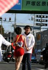 2009箱根駅伝8区 城西大学石川選手6