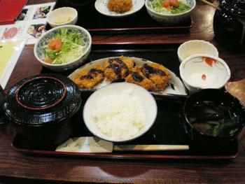 「季節料理ととんかつ ふみぜん」2(浦田先生)