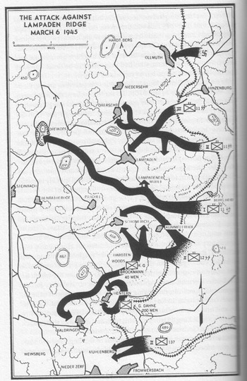 Lampaden-Ridge-map