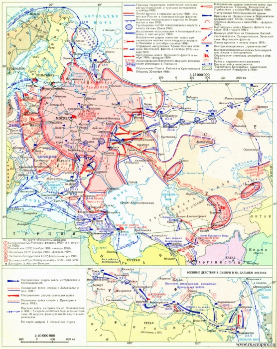 ロシア内戦1918~1919 (2)