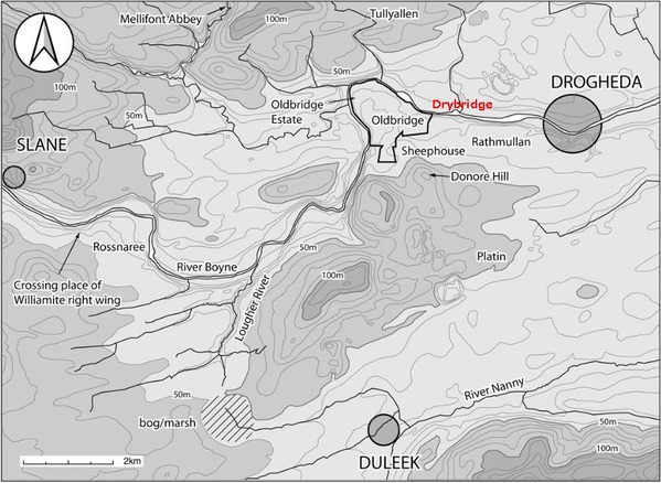 Boyne map