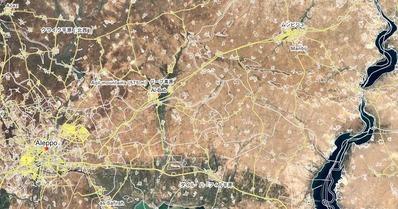 アル・バーブ周辺地図
