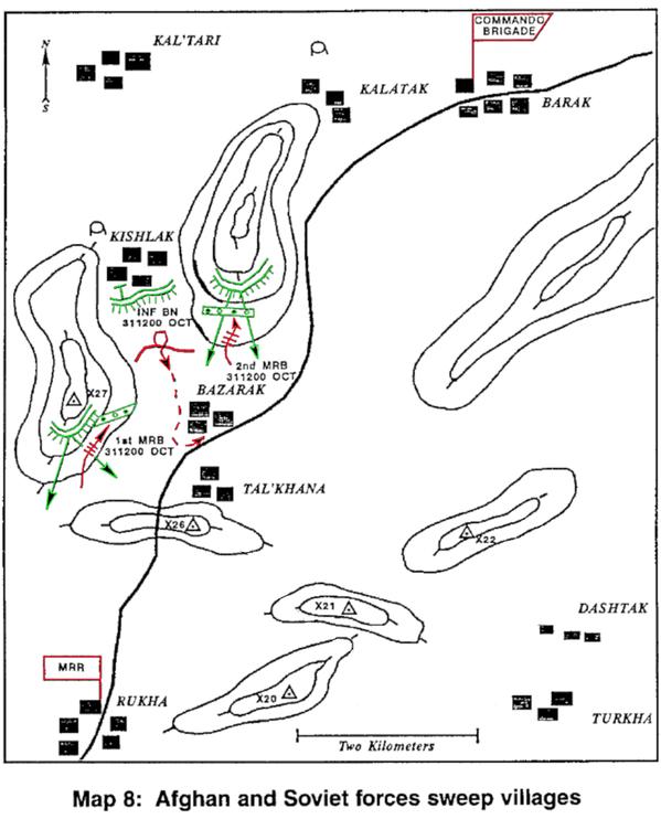 1982_マスードの対包囲_高地と町の同時攻撃_3