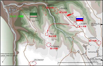 2000_Battle for Height 776_ロシア軍のゲリラ包囲殲滅 _1