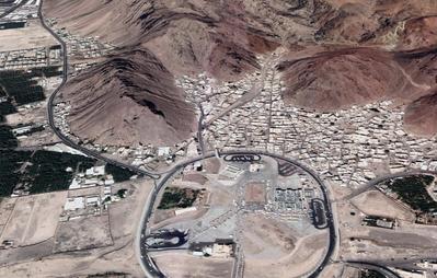 Uhud-current map