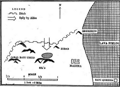battle of Trench center