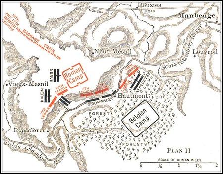 サビス川の戦いmap9