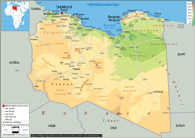 Libya_geo map