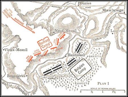 サビス川の戦いmap8