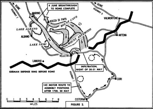 1944_連合軍の浸透戦術_battle at velletri_第36師団