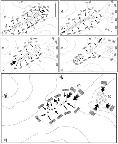 ハッティーンの戦い_軽騎兵包囲戦術の弾性
