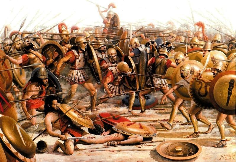 ギリシャ・ファランクス戦闘