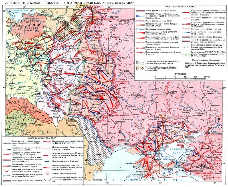 ロシア内戦1920末