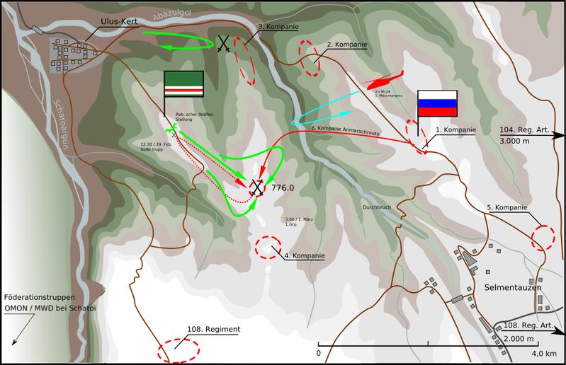 2000_Battle for Height 776_ロシア軍のゲリラ包囲殲滅 _3