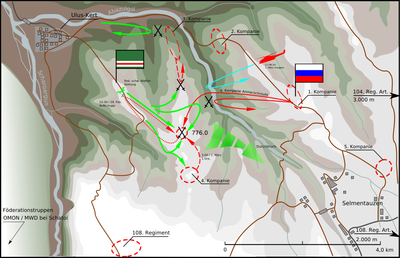 2000_Battle for Height 776_ロシア軍のゲリラ包囲殲滅_4