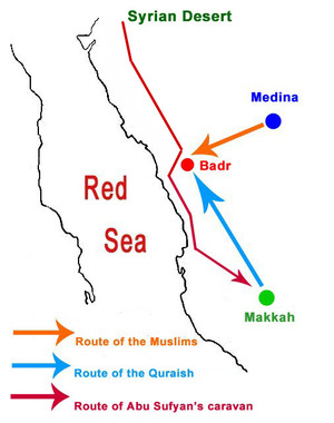 Map+of+Badr+Sea+Route