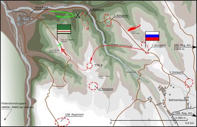 2000_Battle for Height 776_ロシア軍のゲリラ包囲殲滅 _2