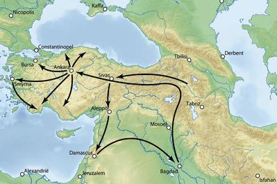 Timur_Syria & Anatolia_campaign