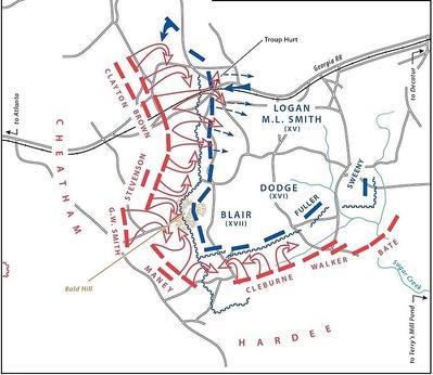 鈎型陣形の勝利_アトランタの戦い