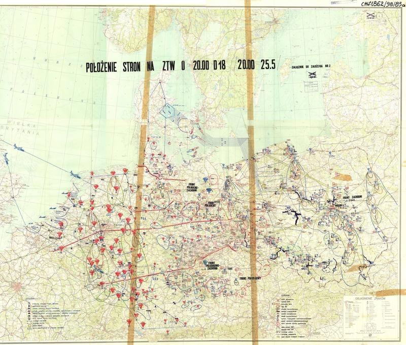 ワルシャワ条約機構の核攻撃想定