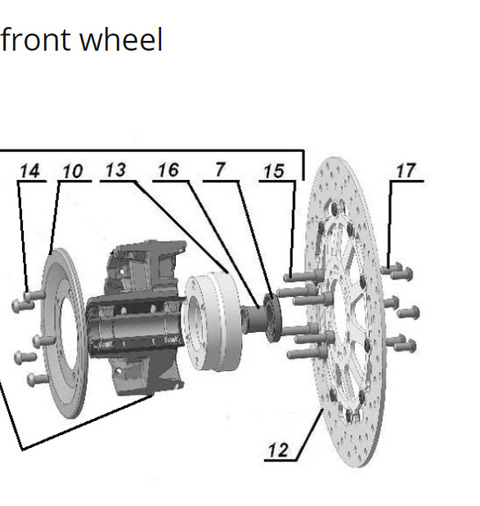 2019 front wheel