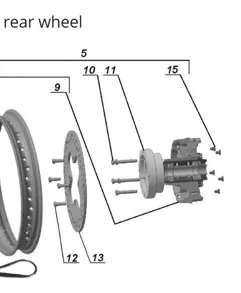 2019 rear wheel