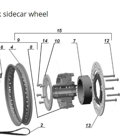 2019 sidecar wheel