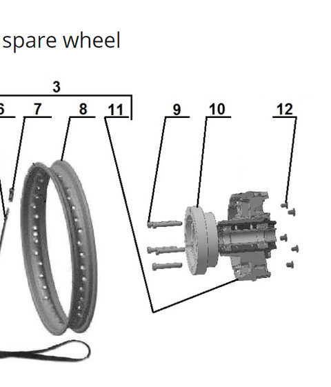 2019 spare wheel