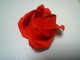 折り紙ばら