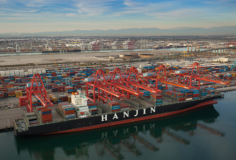 long beach Pier T - Hanjin 2