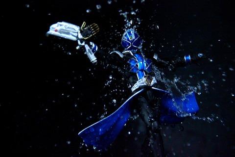 S.H.フィギュアーツ 仮面ライダーウィザード ウォータースタイル レビュー&プチ改造