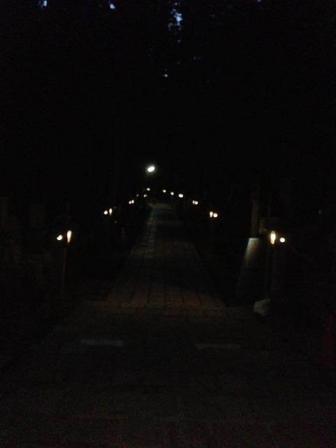 真っ暗墓所