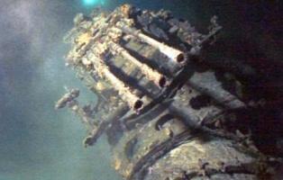潜水艦発見される!