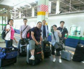 新潟駅に到着♪
