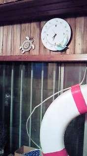 今までの時計は教室に・・・