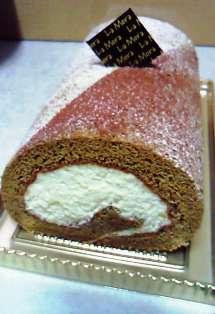 ティラミスのロールケーキ♪