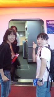 成田空港にて♪