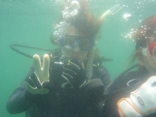 体験ダイビング〜