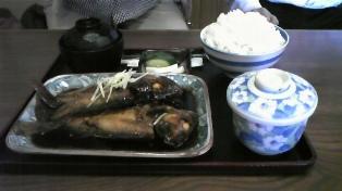 煮魚定食!