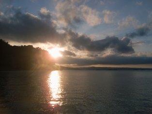 夕日が美しい〜