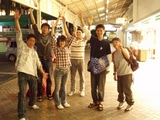 熱海駅前で大騒ぎ!