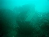 通り崎湾内の沈船
