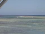 水族館から見える沖縄の海