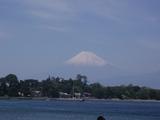 快晴。富士山もくっきり。