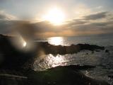 2005年最後の夕陽